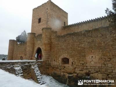 Villa de Pedraza y el Cañón del Río Cega; senderismo menorca
